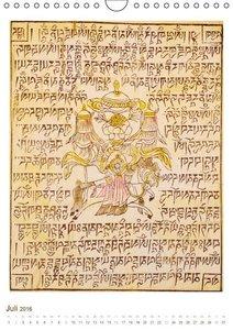 Mit Buddha durchs Jahr: historische Zeichnungen (Wandkalender 20
