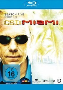 Csi Miami Season 5.1 (Eps.1-12),Blue Ray