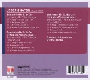 Sinfonie 93,94 & 103