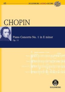 Konzert für Klavier und Orchester Nr. 1 e-Moll