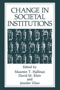 Change in Societal Institutions