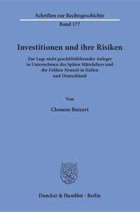 Investitionen und ihre Risiken.