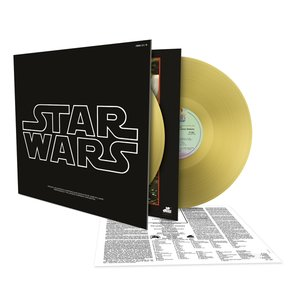 Star Wars-Episode IV-A New Hope/Gold Vinyl