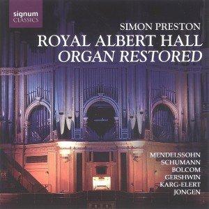 Royal Albert H.Organ Restored