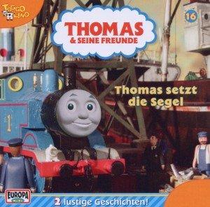 16/Thomas setzt die Segel