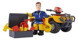 Simba Feuerwehrmann Sam Sam Mercury-Quad mit Figur