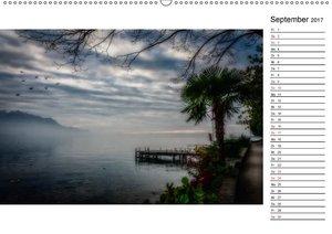 Montreux - Die Ufer des Genfer SeesCH-Version (Wandkalender 2017