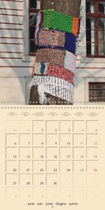 Urban Knitting (Wall Calendar 2016 300 × 300 mm Square)