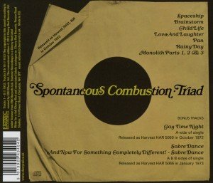 Spontaneous Combustion: Triad (Remastered+Expanded Edition)