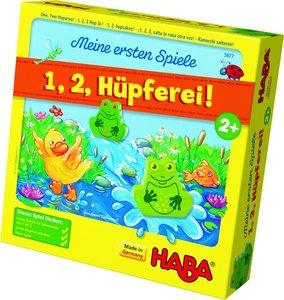 Meine ersten Spiele - 1, 2, Hüpferei!
