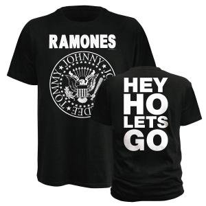 Hey Ho Let's Go (T-Shirt Grösse L)