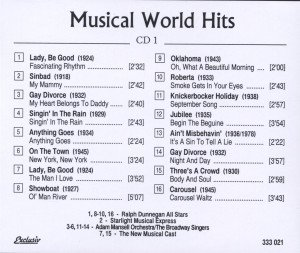 Musical World Hits Vol.1