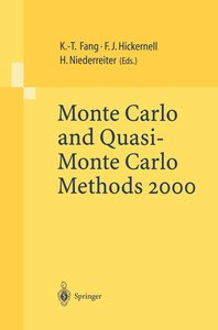 Monte Carlo and Quasi-Monte Carlo Methods 2000