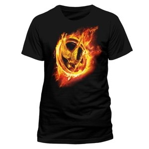 The Hunger Games-Fire Mocking Jay-Size L