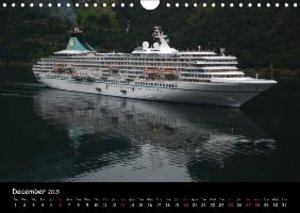 Cruise ships around the world (Wall Calendar 2015 DIN A4 Landsca