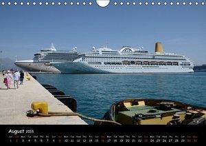 Cruise ships around the world (Wall Calendar 2015 DIN A4 Landsca