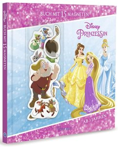 Disney Prinzessin: Buch mit 15 Magneten