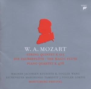 Quartet K.478/Quintet K.515/+