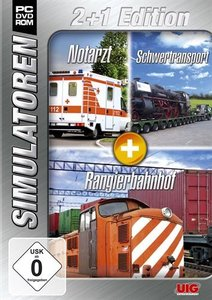 Simulator Bundel: Notarzt, Schwertransport, Rangier Sim 2+1 Oran