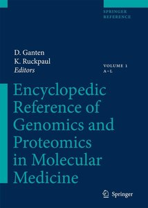 Encyclopedic Reference of Genomics and Proteomics in Molecular M