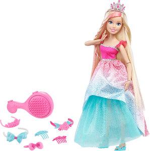 Barbie Große Zauberhaar-Prinzessinnen blond