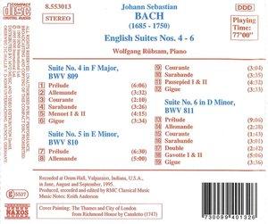 Englische Suiten 4-6