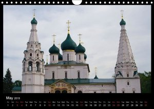 River Cruise Moscow to St. Petersburg (Wall Calendar 2015 DIN A4