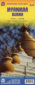 Myanmar / Burma Travel Map 1 : 3 500 000
