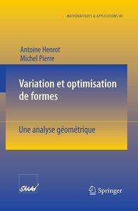 Variation et optimisation de formes