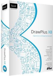 Serif DrawPlus X8 - Digitale Kunst und Design leicht Gemacht