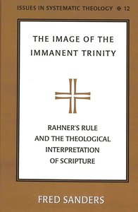 The Image of the Immanent Trinity