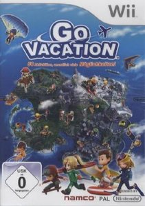 Go Vacation. Nintendo Wii