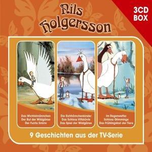 NILS HOLGERSSON - 3-CD HÖRSPIELBOX