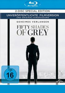 Fifty Shades of Grey - Geheimes Verlangen. Combo-Pack