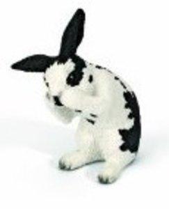 Schleich 13698 - Farm Life: Kaninchen, putzend