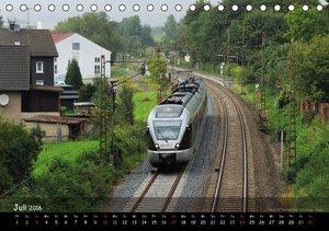 Eisenbahn im Kreis Siegen-Wittgenstein (Tischkalender 2016 DIN A