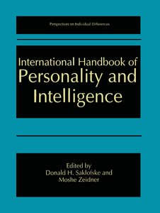 International Handbook of Personality and Intelligence