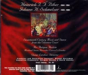 Musik Und Tänze Des Wiener Hofes