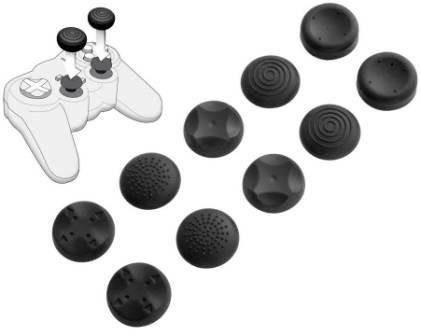 PlayStation 3 - Analog Controller Cups (5er) - zum Schließen ins Bild klicken