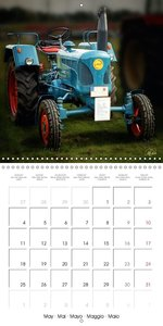 Oldtimers - tractor love (Wall Calendar 2015 300 × 300 mm Square
