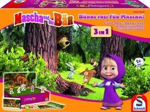 Mascha und der Bär, Bühne frei für Mascha! 3 in 1