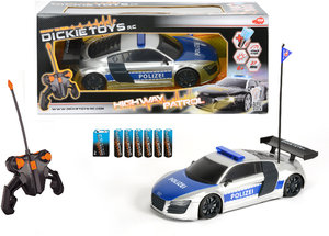 Simba Dickie 201119059 - RC Highway Patrol, Audi Polizei, Ready