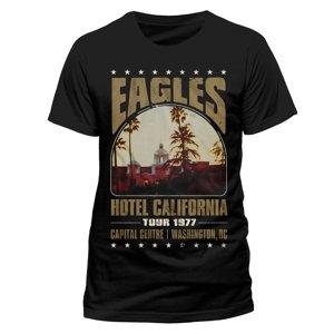 Hotel California Tour (T-Shirt,Schwarz,Größe XL)