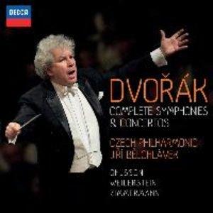 Dvorak: Sämtliche Symphonien Und Konzerte