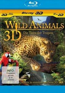 Wild animals-Die Tiere der Tropen-Blu-ray 3D