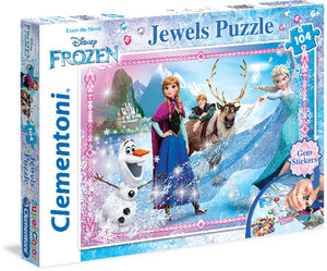 Puzzle FROSEN Die Eiskönigin Jewels