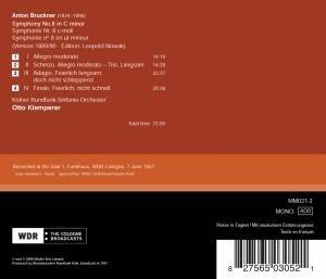 Klemperer/Kölner Rundfunk-Sinfonie-Orche: Sinfonie 8 (Versio
