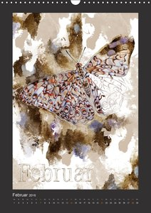 Papillon Art (Wandkalender 2016 DIN A3 hoch)
