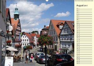 Unterwegs in Backnang (Wandkalender 2017 DIN A2 quer)