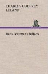 Hans Breitman's ballads